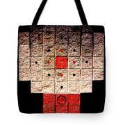 Aztec Nuclear Furnace Tote Bag by Eikoni Images