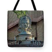 Aztec On The River Tote Bag