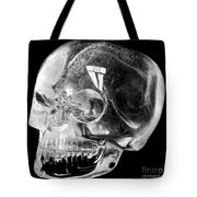 Aztec Rock Crystal Skull Tote Bag