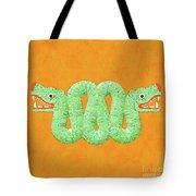 Aztec Serpent Tote Bag