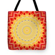 Aztec Sunburst Tote Bag
