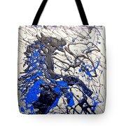 Azul Diablo Tote Bag