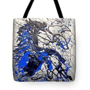 Azul Diablo Tote Bag by J R Seymour