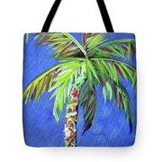 Azul Palm Tote Bag