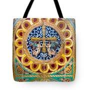 Azulejo - Colorful Details Tote Bag