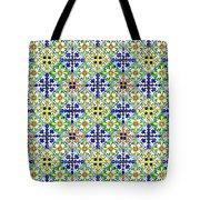 Azulejos Magic Pattern - 11 Tote Bag