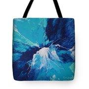 Azure Impulse  Tote Bag