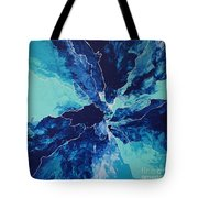 Azure Impulse II Tote Bag