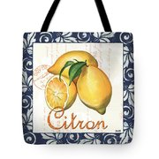 Azure Lemon 2 Tote Bag