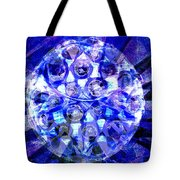 Azure Orb Of Midas Tote Bag