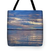 Azure, Pink And Reflections 2 Tote Bag