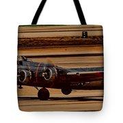 B-17 Bomber Tote Bag