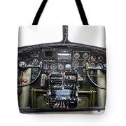 B-17 Cockpit Tote Bag