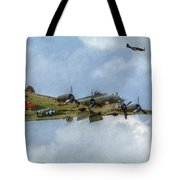 B-17 Flying Fortress Bomber  Tote Bag by Randy Steele
