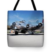 B-17 Flying Fortress, Yankee Lady Tote Bag