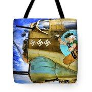 B-17 Paint  Tote Bag