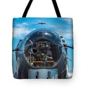 B 17 Snout Tote Bag