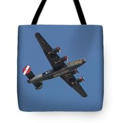 B-24j Liberator Wwii Fighter Tote Bag