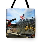 B-24j Witchcraft Wwii Tote Bag