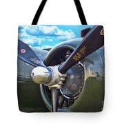 B-25 Engine Tote Bag