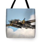 B-25 Georgie's Gal Tote Bag