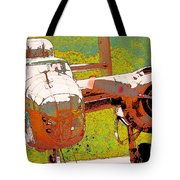 B-25 Red B Tote Bag