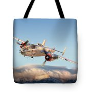 B-25 Mitchell Bomber Tote Bag