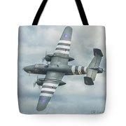 B-25j Mitchell Tote Bag