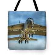 B-52 Departure Color Tote Bag