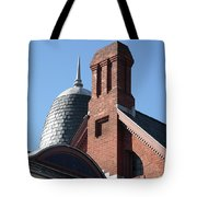 B And O Railroad Station In Oakland Maryland Tote Bag