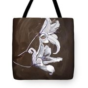 B And W Lily Tote Bag