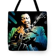 B B King Tote Bag