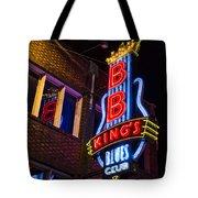 B B Kings On Beale Street Tote Bag