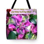 B Exton  Flowering Of Delights  Bigstock 164301632  2991949 Tote Bag