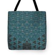 B - N W B  -  Blue Netwireblast Tote Bag