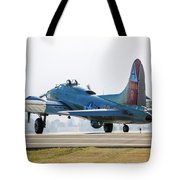 B17 Flying Fortress Cleared For Takeoff At Livermore Tote Bag