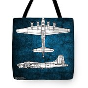 B17 Flying Fortress Tote Bag