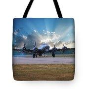 B17 Landing Tote Bag