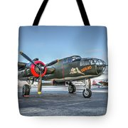 B25 Mitchell At Livermore Tote Bag
