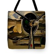 B25 Mitchell Bomber Starboard Engine 1943  Warbirds Tote Bag