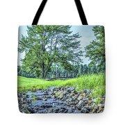 Babbling Creek Tote Bag