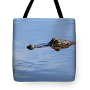 Babcock Wilderness Ranch - Alligator Lake - Waiting For Prey Tote Bag