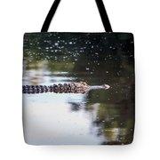 Babcock Wilderness Ranch - Alligator Long Profile Tote Bag