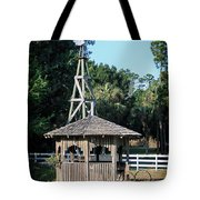 Babcock Wilderness Ranch - Windmill Tote Bag