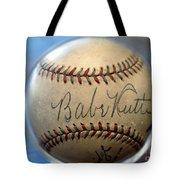 Babe Ruth Baseball. Tote Bag