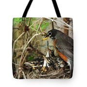Babes In The Nest Tote Bag
