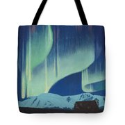 Babine Mountains Aurora Tote Bag