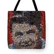 Babr Ruth Puzzle Piece Mosaic Tote Bag