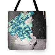 Baby And Squares 2 Tote Bag