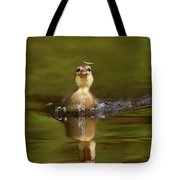 Baby Animal Series - Hunting Duckling Tote Bag
